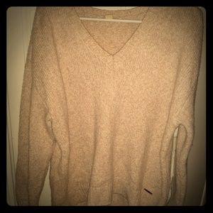 Michael Kors beige sweater L